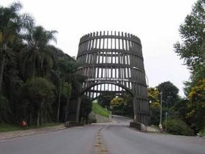 Bento Gonçalves, cerca de Porto Alegre