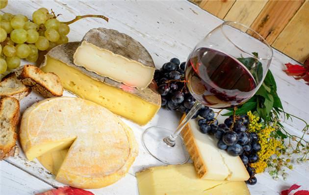 portado queso y vinos