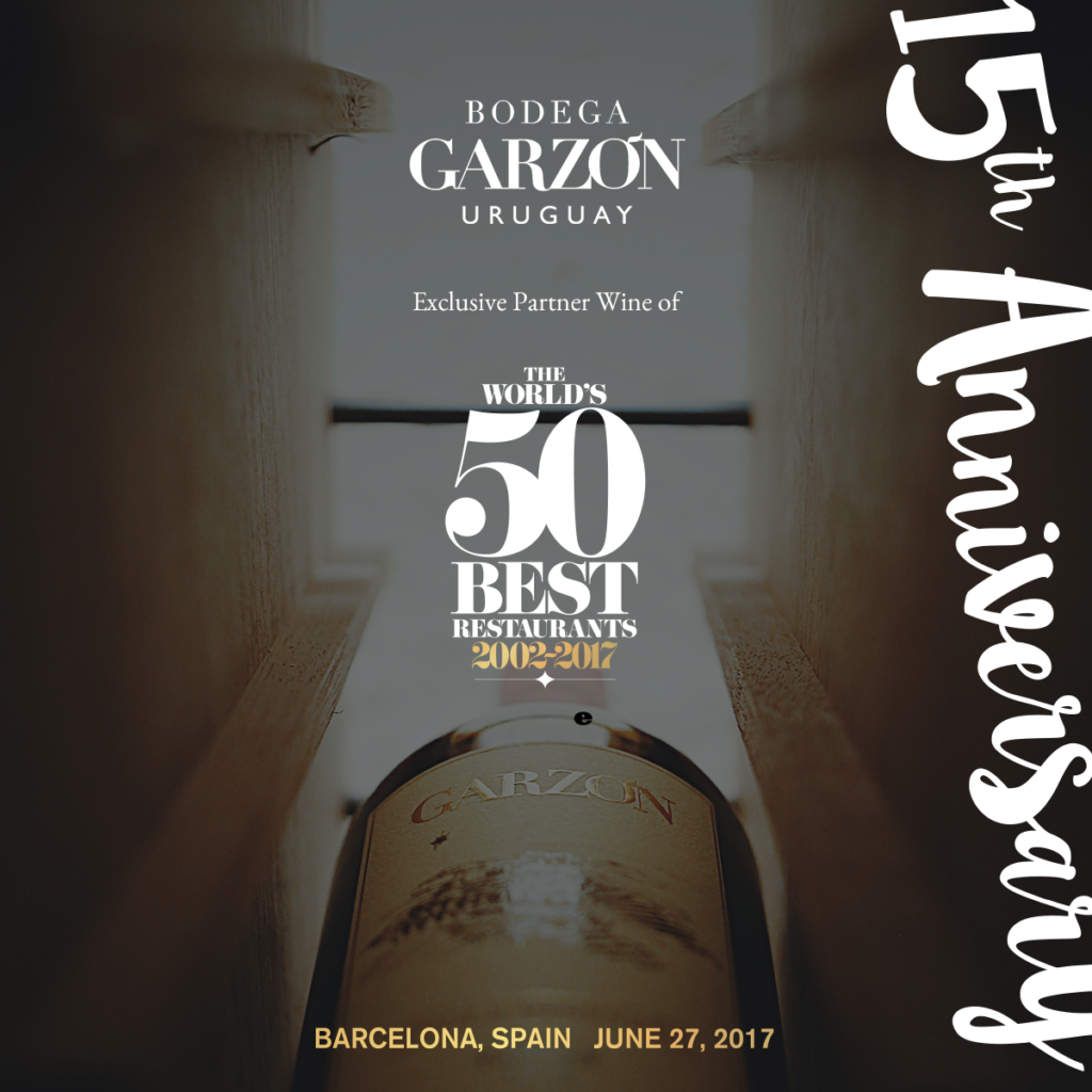Bodega Garzón to Be the Exclusive Wine Sponsor for the World's 50 Best Restaurants