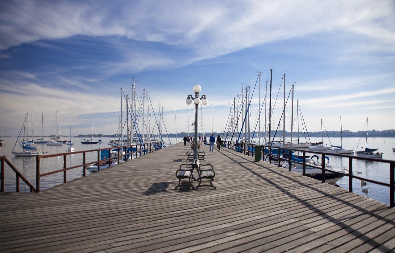 The Port of Punta del Este