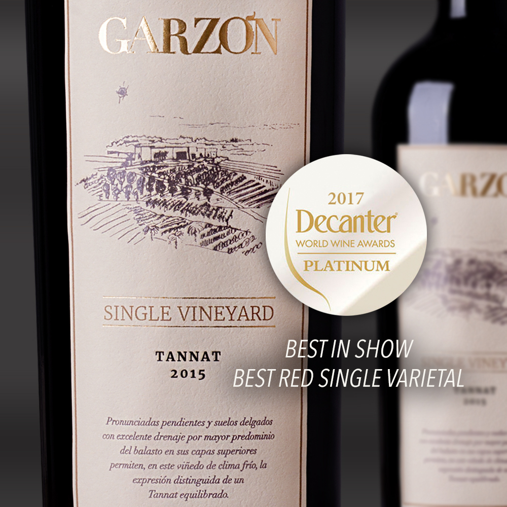 Single Vineyard TANNAT Decanter Awards