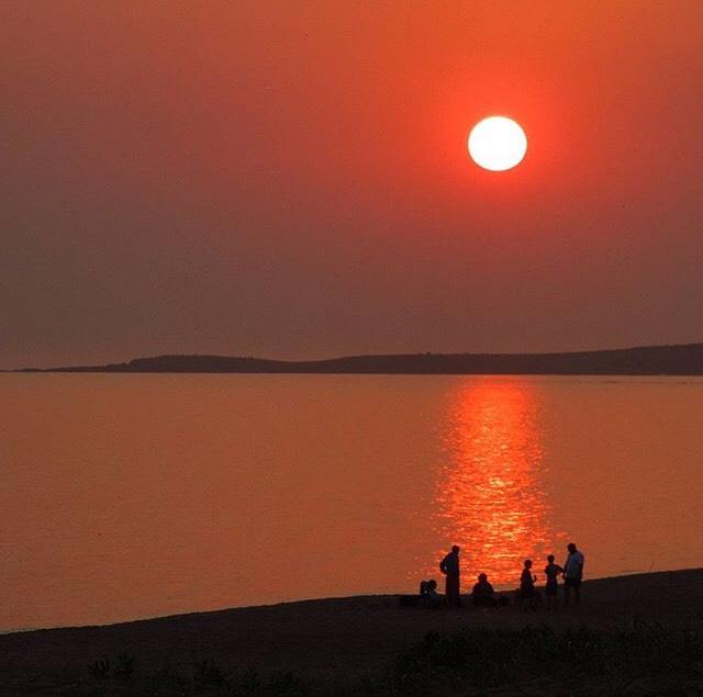 Atardecer Punta del Este, Uruguay