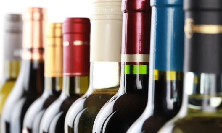 La botella de vino