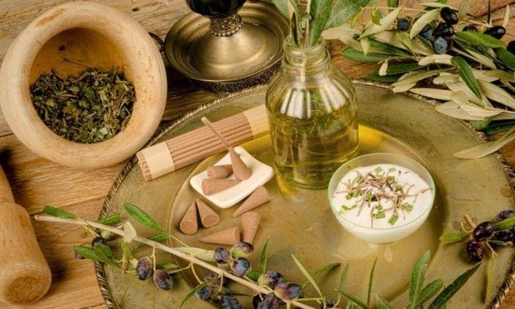 Usos del aceite de oliva: cosmética y spa