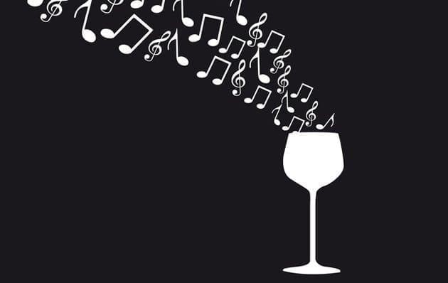 Maridando vino y música