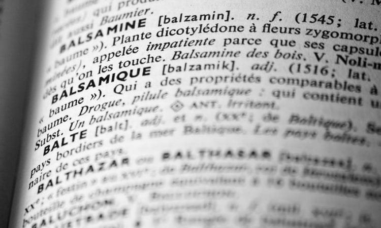 Léxico del vino: selección de palabras II