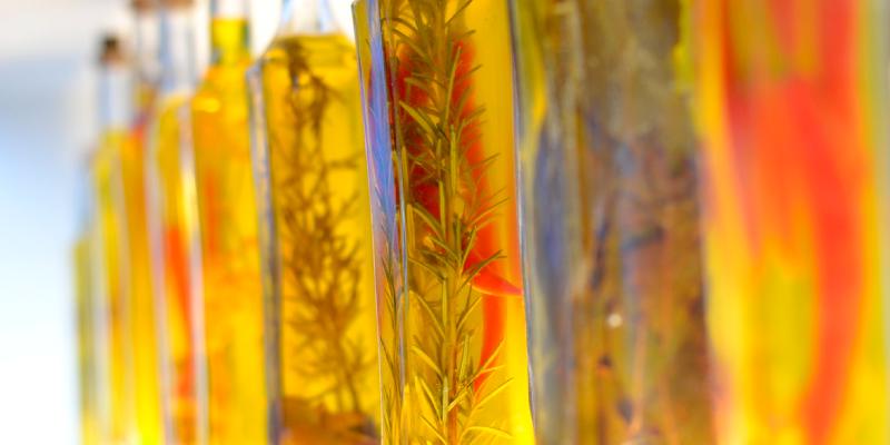 Calorías del aceite de oliva y comparación con otros alimentos