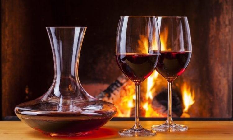 El decantador de vino