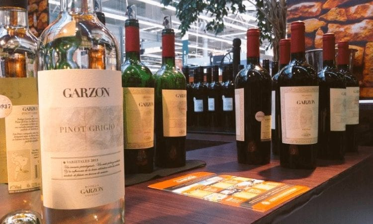 Bodega Garzón, presente en el Salón del Vino del Géant