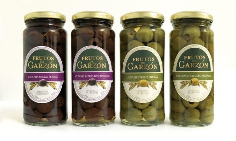 Nuevas aceitunas de mesa Frutos de Garzón