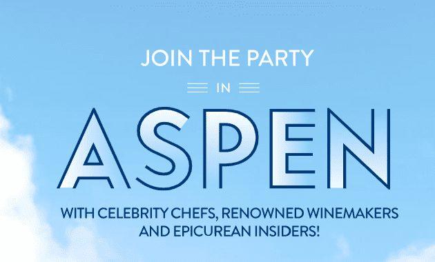 Aspen Food and Wine