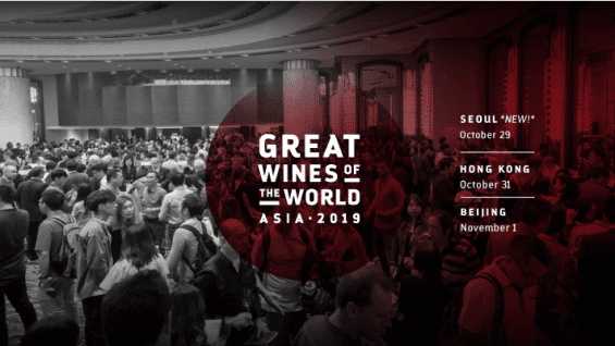 Great Wines of the World Asia Tour 2019