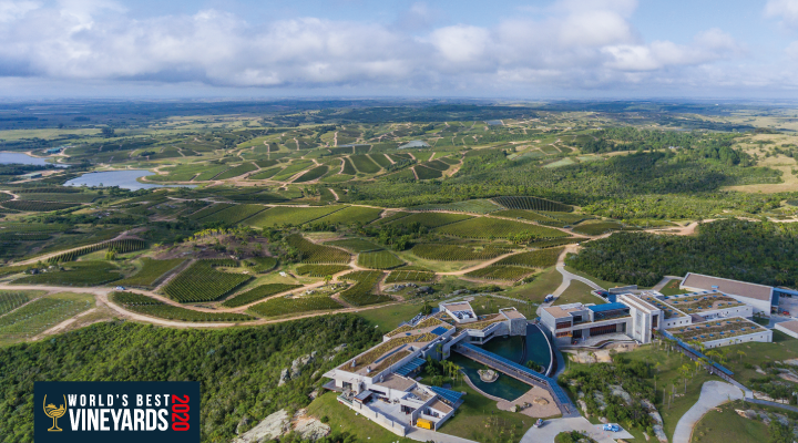 Bodega Garzón in the second place in World's Best Vineyards