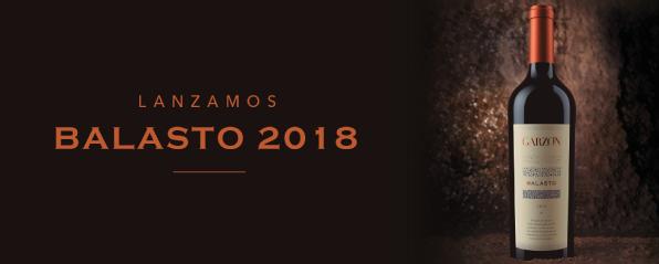 Lanzamos Balasto 2018, uno de los Grands Vins Du Monde
