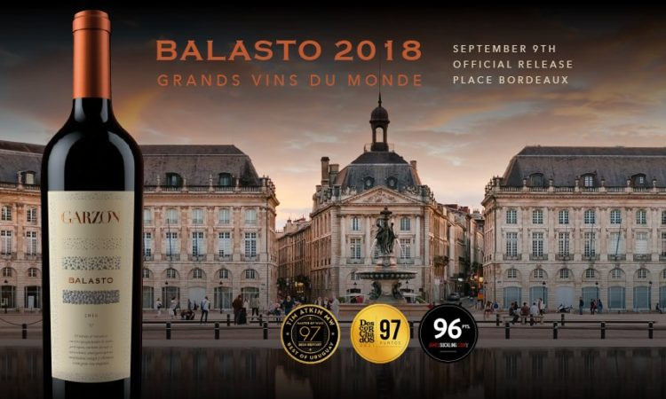 Balasto Launch in Place de Bordeaux
