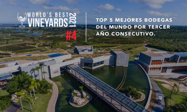 Bodega Garzón in the Top 5 World's Best Wineries