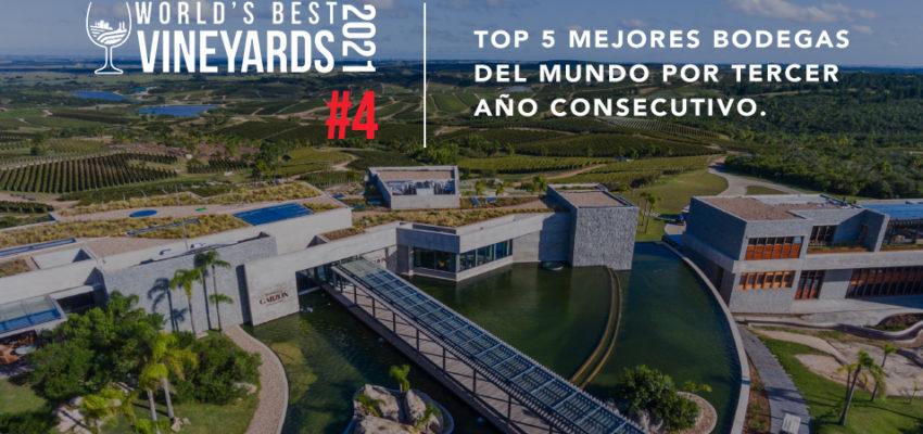 Bodega Garzón en el Top 5 Mejores Bodegas del Mundo